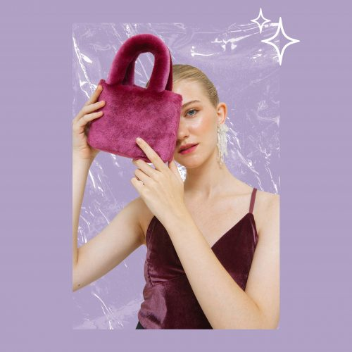 Mulberry Fluffy Bag